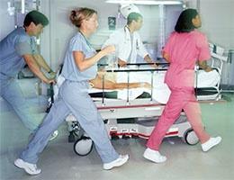Blog_DoClinicalCompetencyPatientSafetyAndNurseRetentionRatesCorrelate_StretcherMedProfRushHospital_260x200dpi.jpg