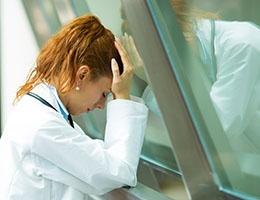 Blog_PatientSatisfactionAlphaOmega_MedProfUpsetHandsOnHead 2_260x200px