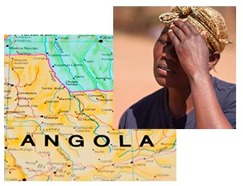 map-angola-african-woman-upset
