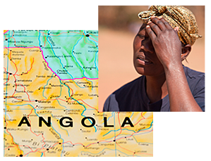 map-angola-african-woman-upset